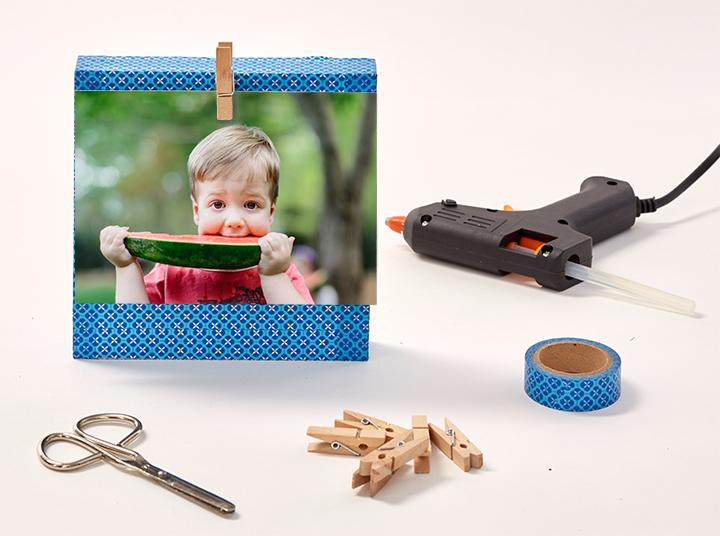 Créez un bloc-photo avec vos enfants !