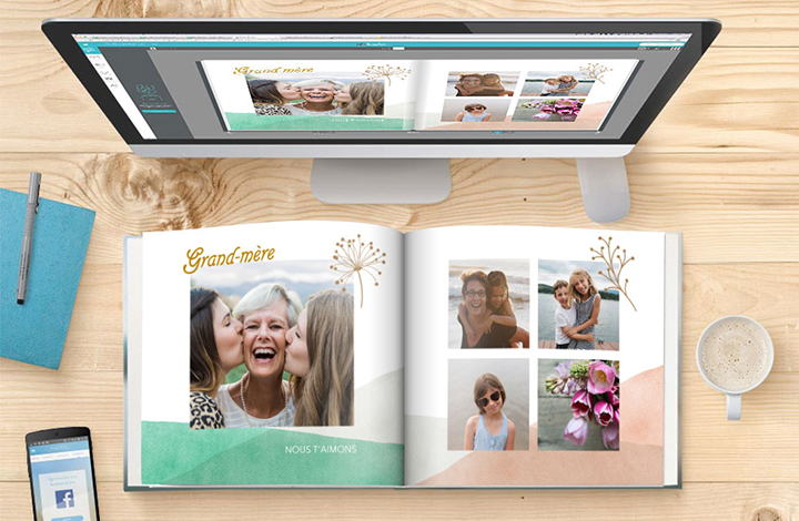 Créer un Livre photo : votre guide en 4 étapes