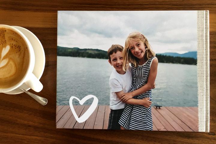 Petit coup d'oeil sur un Livre photo dédié aux Mamans !